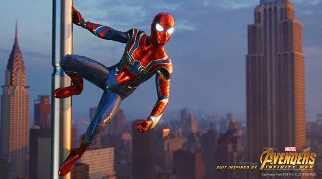 Spider-Man: Cara Mendapatkan Kostum Avengers Infinity War