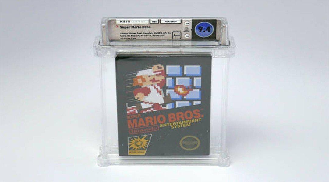 Kopian Super Mario Bros. Yang Belum Terbuka Dijual Seharga 100,000 US Dollar
