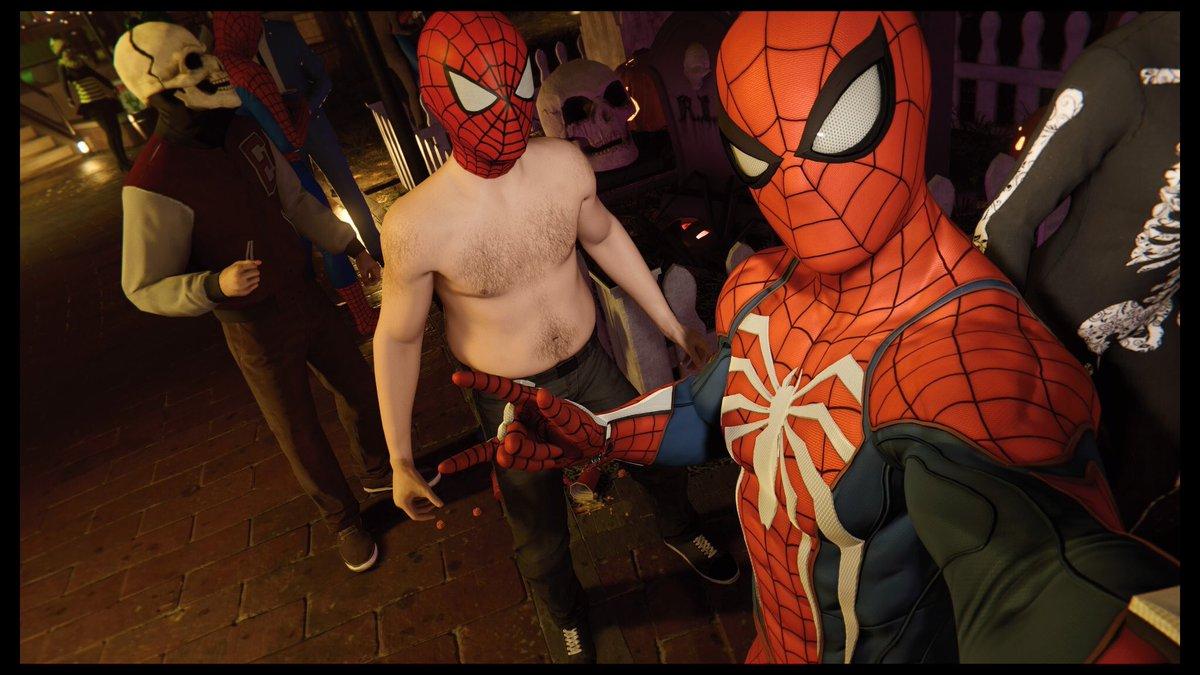 Easter Spider-Man Tidak Memakai Baju Ditambahkan