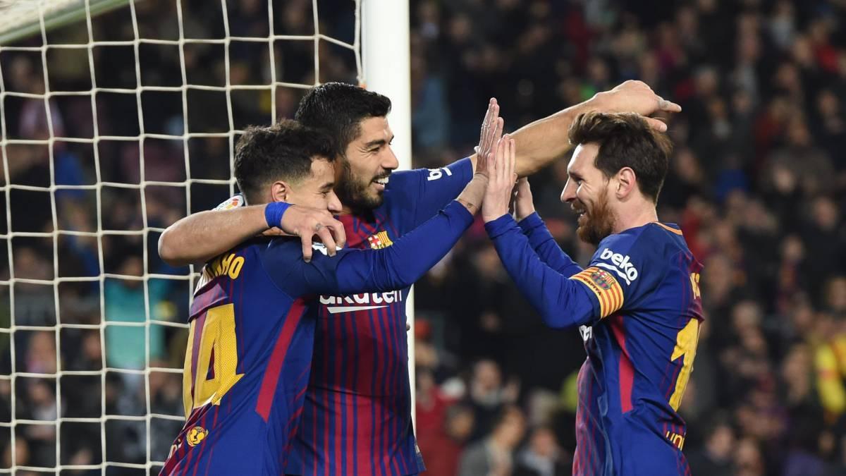 Barcelona yang dipimpin oleh Lionel Messi dan kawan-kawan berhasil menjatuhkan Real Madrid
